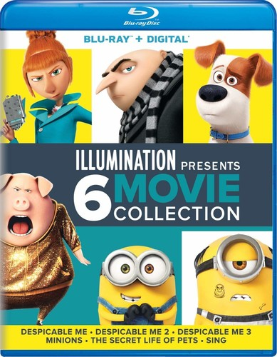 Despicable Me 1 2 3 Minions Secret Life Of Pets Sing 2016 Blu Ray New Ebay